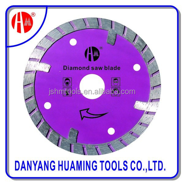 best selling high quality turbo diamond saw blade for ceramic tile and porcelain tile with fast cutting speed