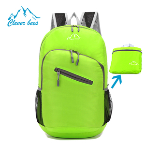 High quality lightweight waterproof sports fashion foldable backpack