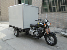 Hot Sale China 250cc Three Wheel Cargo Tricycle With Cloesd Box Motorized Tricycles For Adults
