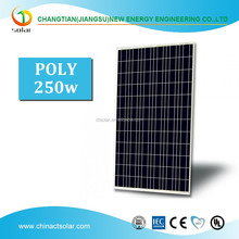 250W Poly Solar Panel High Quality PV Poly Solar Panel Cost