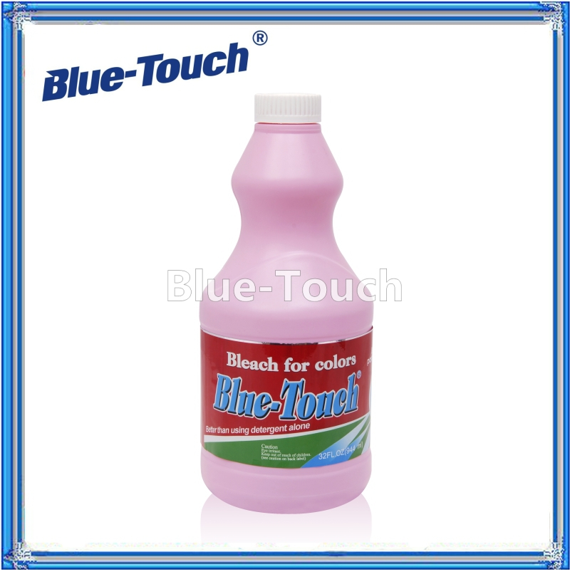 best selling products wholesale bleach liquid brightening and Disinfectant Chlorine Free bleach for color 944ml