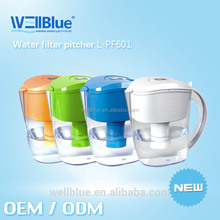 Wholesale Plastic 7 stages 3.5L Water Purifier Jug pitcher