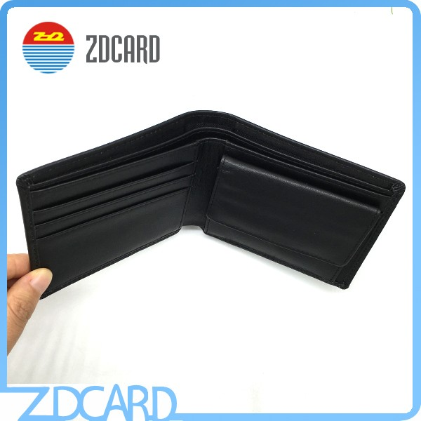 Mini Genuine Leather Rfid Blocking Wallets For Men