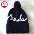 Customize Winter pom pom beanie hats with wholesale price