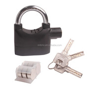 Alarm Padlock Lock for Motorcycle Scooter Quad Bike