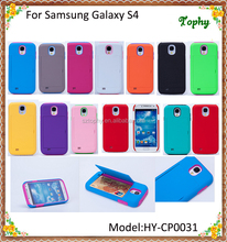 2 in 1 Multi-Function Mix Soild Colour Hybrid Combo Cassette Holder Stand Back Cover Case For Samsung Galaxy S4