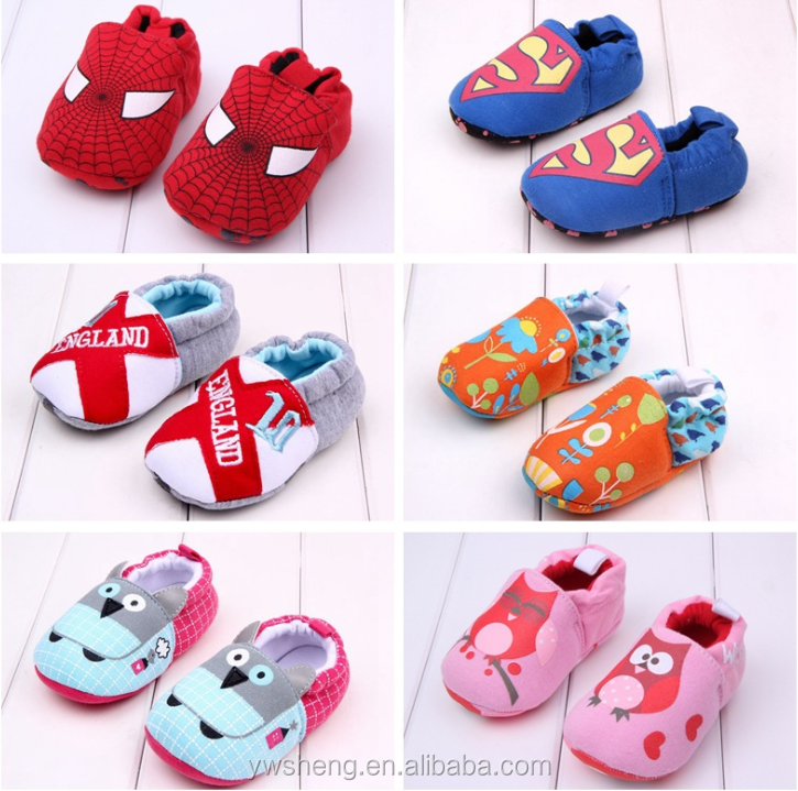 2016 Manufacturer Wholesale Shoes New style cheap soft newborn baby walking shoes/toddler shoes