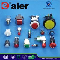 Daier reset push button switch for kitchen hood ip67