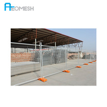 Manufacturer Backyard Metal Fence temporary steel construction fence temporary fence gate