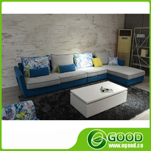 Comfortable Down Feather Fabric Sofa Furniture