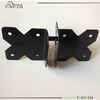 Single opening pvc fence hinge