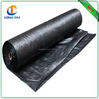 Anti UV weed control landscaping mat , 5 years weed mat for tree plant