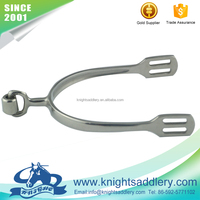 English Style Spurs of SS vertical Roller Cylinder Horse Spurs