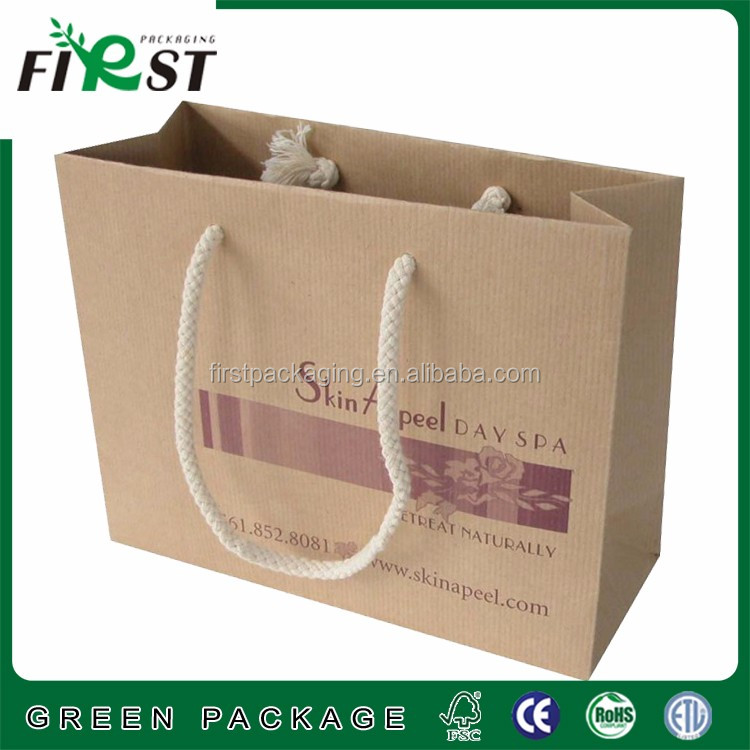 Professional Factory Made Paper Packing,Brown Kraft Paper Bag