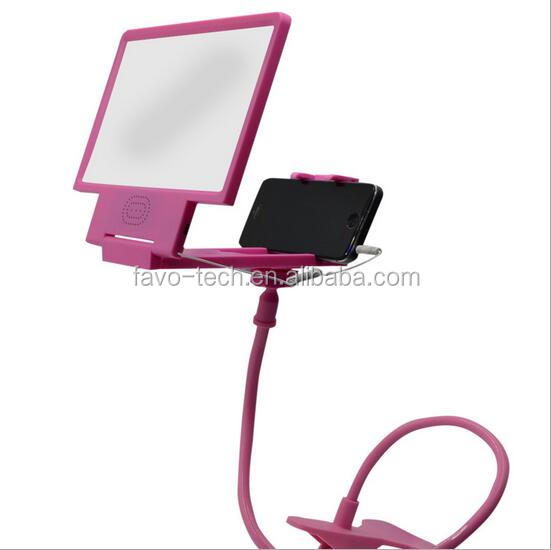 3D Mobile Phone Screen Folding 3D Magnifier Portable HD Amplifier Enlarge Stand with speaker