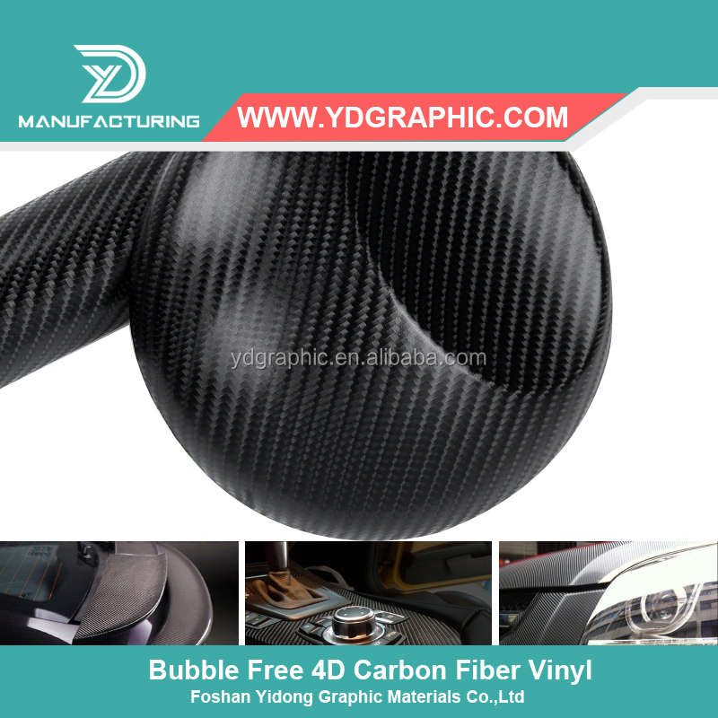 Car Wrap Vinyl Vehicle Carbon Fiber 4D Carbon Fiber Film