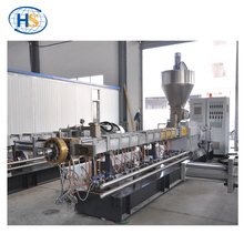 Lab Test Twin Screw Extruder Strand Extrusion Line/HDPE/LDPE/PP/PE/PET Granules Production Extrusion Line