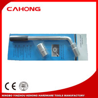 L type socket wrench car tool 17-19mm 21-23mm