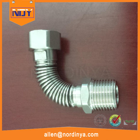 Good price stainless steel flexible corrugated radiator connection hose