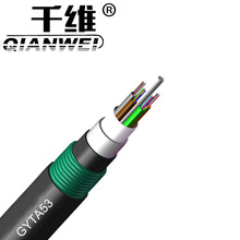 China cheap price 48 core single mode fiber optic cable Armored Cable GYTA53