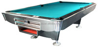 Natural slate 8 pool table game 9ft for sale TP-122