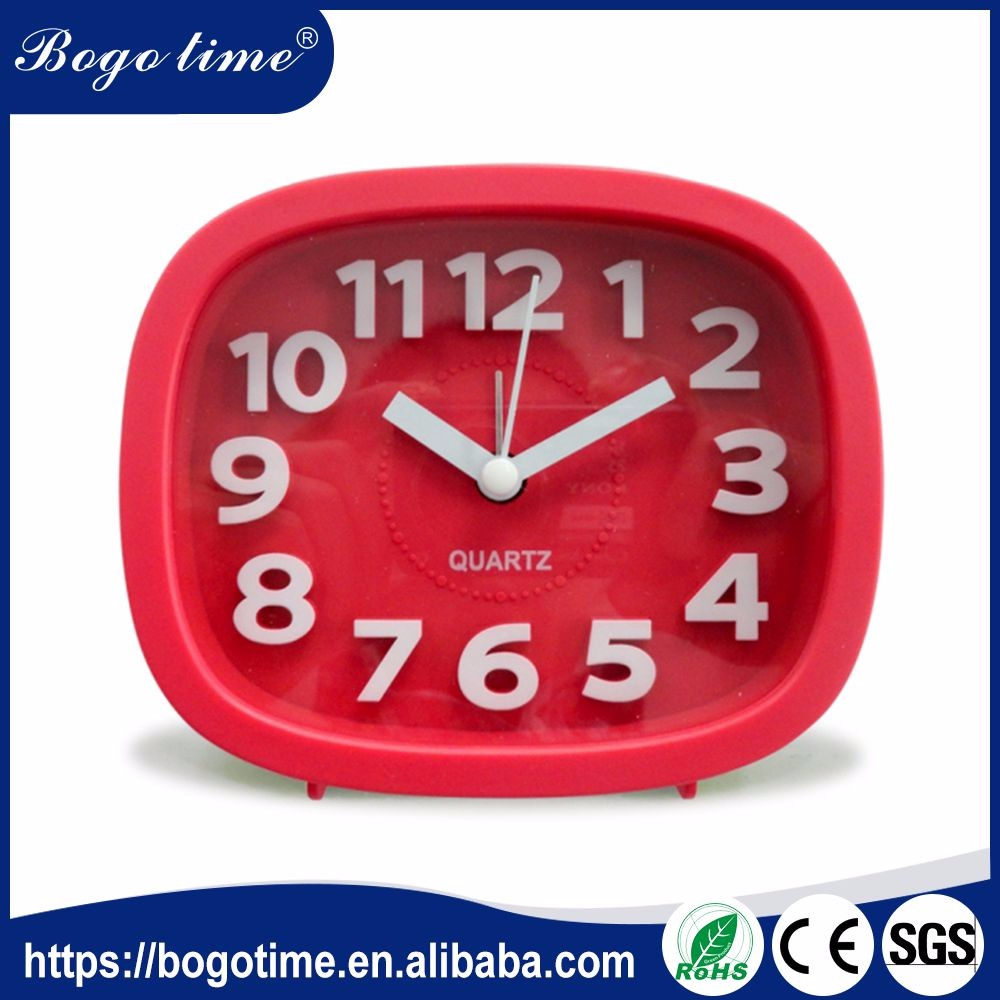Factory Supply Design 3D clock with flip flap