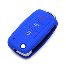 Car Romote Filp key silicone protecting key case cover for different car, Silicone protective