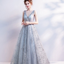 Communication <strong>party</strong> <strong>Dress</strong> For Prom Evening Gowns matured women charming long elegant V neck formal gowns evening <strong>dresses</strong>