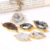 Cheaper price random shape pendant agate geode druzy quartz necklace fashion jewelry