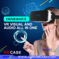 2017 new product 3d vr glasses virtual reality VR CASE A2 All In One headset