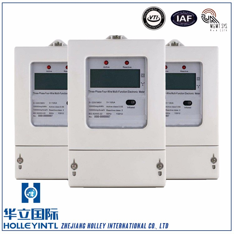 Per phase power factor and power factor meter