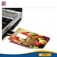 Free sample usb flash drive pendrive credit card usb 3.0 pen drive