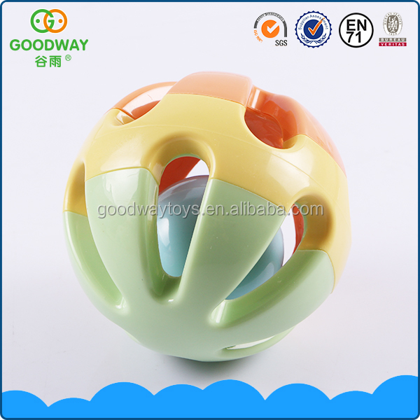 Nontoxic infant learn to crawl toy cute colorful musical baby ball