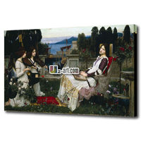 Reproduction printed famous acrylic painting artists