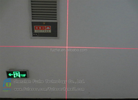 The laser module of laser marking indicating lamp head positioner module 5mW Red Cross Line