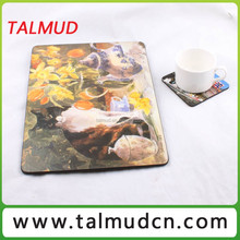 Excellent custom made brands printing free sample table mat with reasonable price