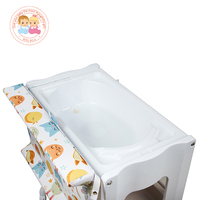 Multifunctions Baby Clean bathtub with Baby changing table