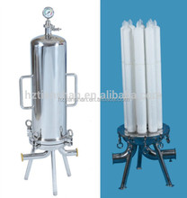 Factory wholesale stainless steel cartridge filter housing machinery for vodka and wine clarification