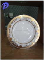 middle east royal bone china round dinner plates
