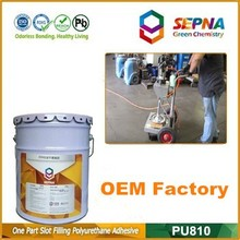 Self-leveling Concrete Sealant PU/PU foam gap sealant