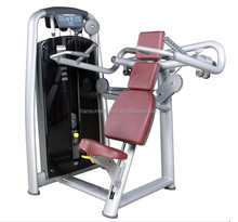 Bodybuilding Machine Back Muscle commercial Gym Equipment Vertical Traction / Cross Drop-down pull down fitness equipment