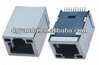 High quality RJ45 10P10C smt connector with 90 degree
