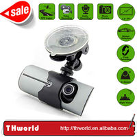 2014 new design mini gps full hd car dvr model X3000 with dual camera