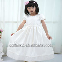 HOT!!! 2013 fashion white princess beaded lace trimming flower kids dresses for weddings latest dress design photos