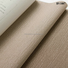 BV1007 HL Decoration fabric back vinyl wallpaper wall covering material