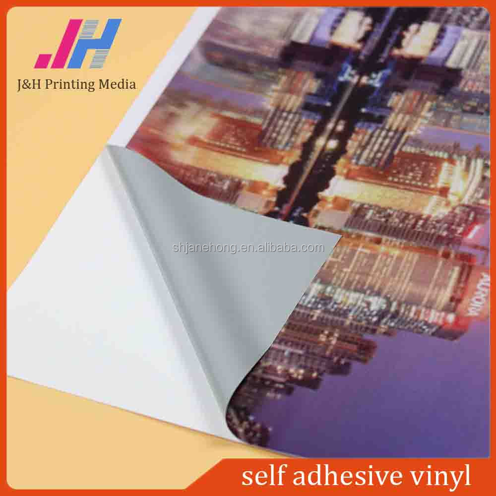 High Quality Vinyl Car Wrap Sticker Semi-Removable Clear Self Adhesive Vinyl From Factory