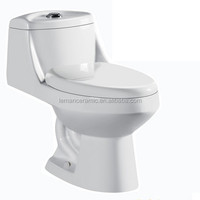 LM023 sanitary ware siphonic one piece toilet bathroom WC