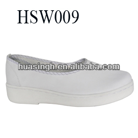 XM,lightweight Frence style restaurant industry/hotel staff wear 2014 popular sample kitchen shoes