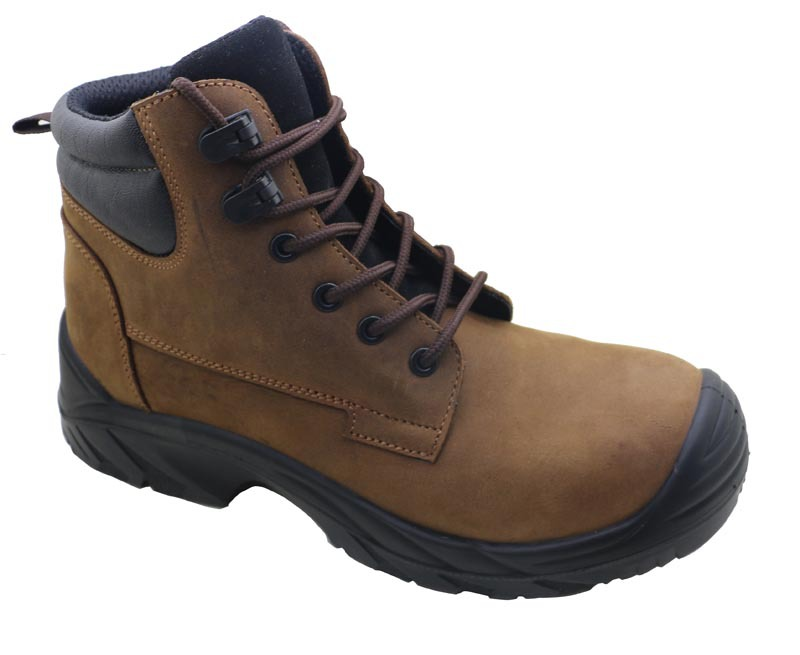 Cheap custom made brand stylish iron steel toe cap ranger safety shoes poland
