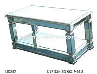 2013 new design coffee table mirror furniture